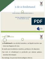 Producción de 2-Feniletanol
