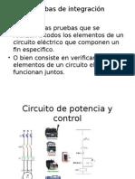 Pruebas Integrales a Un Sistema de Control Eléctrico