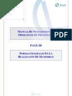 Manual de Procedimientos Operativos Prevencion (Vehiculos)Difiniciones