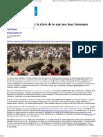 T.fraguas - Hominización y Humanización
