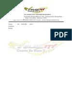 Surat Velozity De Bogor's