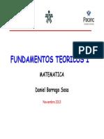 Fundamentos Teoricos I matematicas