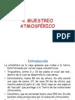 4. MUESTREO ATMOSFÉRICO