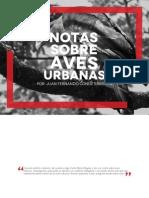 Notas Sob Reaves Urbanas