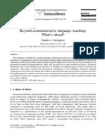 S.savignon_Beyond Communicative Language Teaching