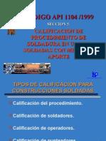 2. API 1104  CAP. 5 Calificación de Procedimiento.ppt