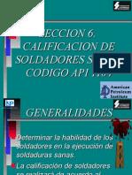 3. API 1104 CAP 6 Calificación de Soldadores .ppt