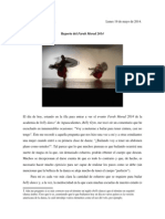 Reporte Farah Murad 2014