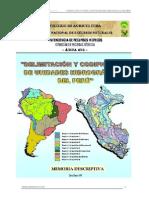 LECTURA- Delimitacion de Cuencas-peru