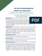 Patrones de Interferencia