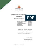 ATPS Teorias Da Administraçao