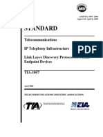 ANSI-TIA 1057 -2006 - Telecommunications IP Telephone Infrastructure