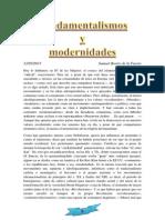 Fundamentalismo y Modernidad