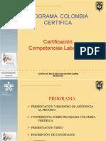 Program a Colombia Certifica 2011