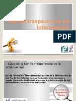 Ley de Trasparencia Ala Información