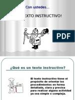 presentacintextoinstructivo-120714062504-phpapp02