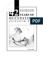42 Years of Occupation