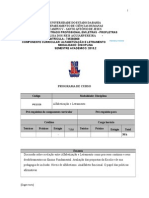 Plano de Curso 2015-01 - Letramento