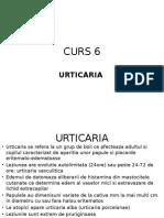 Curs 6 Urticaria