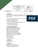 Especificaciones Tracing Electrico