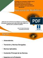Aplicacion de Las Normas de Auditoria en Venezuela