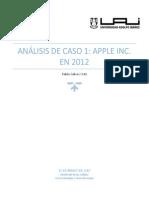 Análisis de Caso Apple Inc
