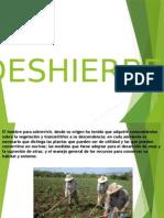 DESHIERBE