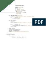 Ejercicios algoritmos ordenamientos