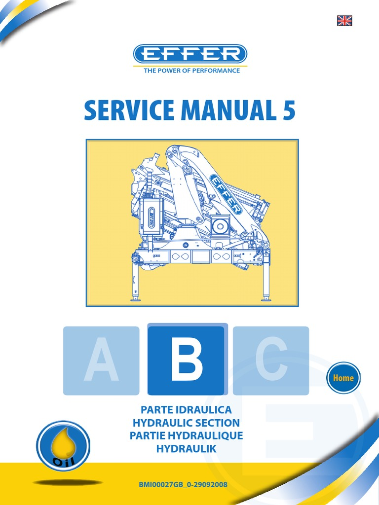 controlbanks manual valve crane machine rh es scribd com Effer Crane Parts Effer Crane 220 Model 3s