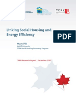 Linking Social Housinmmg and Energy