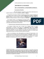 Historia de La Filosofía. 2º Bachillerato