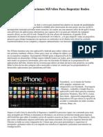diez Mejores Aplicaciones Móviles Para Regentar Redes Sociales 2
