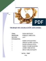 Trabajo de Legislación Aduanera