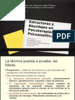 Estructuras y Abordajes en Psicoterapias Psicoanalíticas (2)