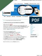 Cara Mudah Dapat Uang Dan Pulsa Melalui Android (WHAFF)