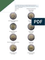 Monedas Bicenternario