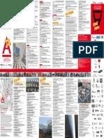 Folleto Semana Arquitectura 2015