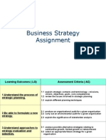 Business Strategy Assignment