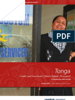 Tonga - Gender and Investment Climate Reform Assessment
