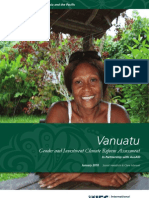 Vanuatu - Gender and Investment Climate Reform Assessment