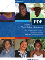 Gender and Investment Climate Reform Assessment
