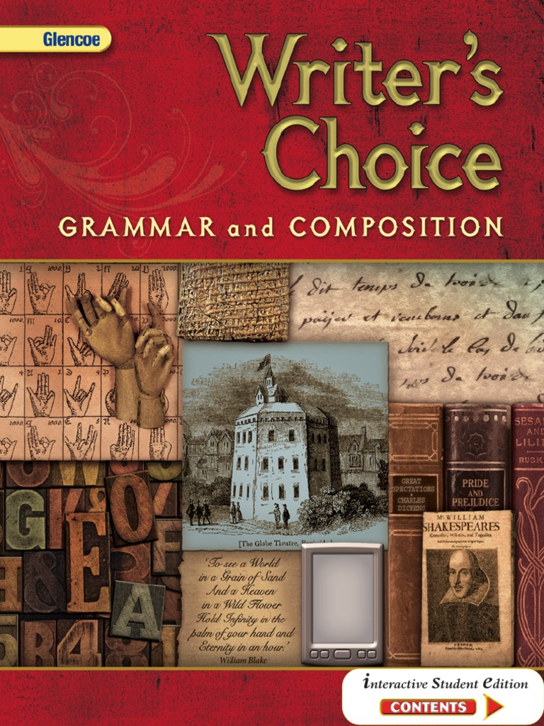 Writer'S_Choice_Glencoe Complete Book | Linguistics | Syntax