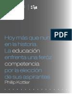 SUMARIO de Poder Del Branding en La Educacion