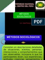 Sociologia Metodos Sociologicos