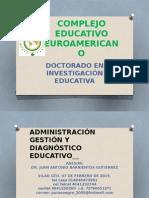 Administración Gestión y Diagnóstico Educativo Doctorado Silao Ene 2015