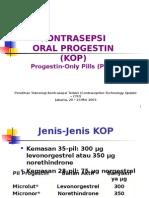 Kontrasepsi Oral Progestin