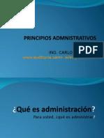 princios administrativos