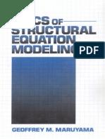 Basics of Structural Equation Modeling