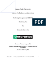 Marketing Plan- Sukhdeep Singh (13116973) & Tawanda Clive Zuze (13123060)