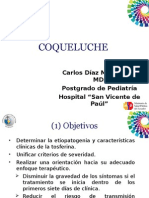 Carlos Díaz Md. PUCE Coqueluche Hospital SVP